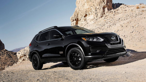 Nissan Rogue Star Wars Edition in Darth Vader Black