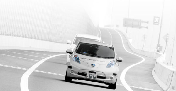 Nissan self driving car
