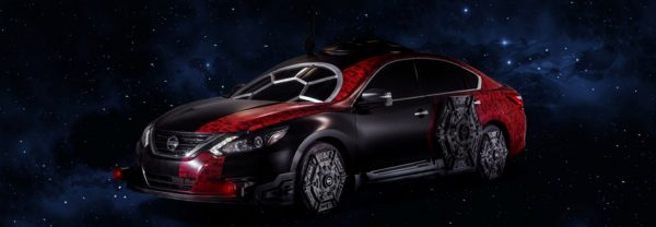 The Star Wars-themed 2018 Nissan Altima.