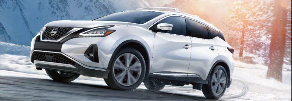 2020 Nissan Murano white SUV